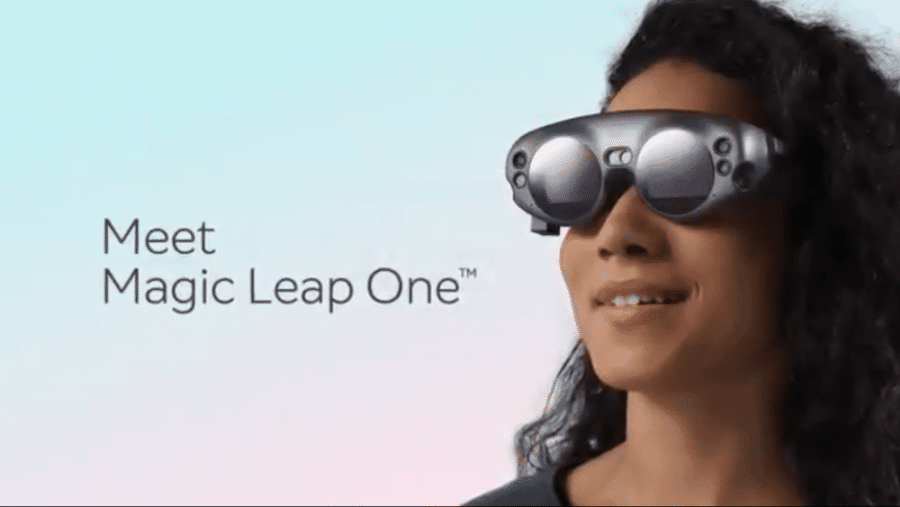 Erstes Bild der Developer edition der Magic Leap
